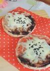 いちごジャム♡チョコハーフチーズトースト
