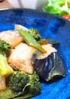 簡単おかず*鮭と野菜のバター醤油炒め*