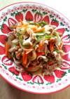ボリューム満点✨肉野菜炒め~甘辛味~