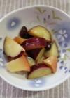 りんごとさつまいもの甘煮