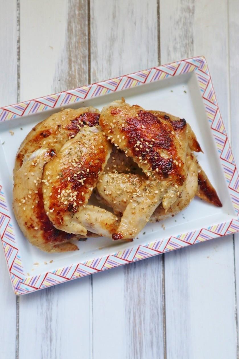 フライパンで簡単♪鶏手羽先の塩焼き