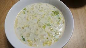簡単!あっさり!白菜のクリームスープ