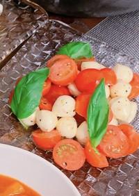 トマトとモッツァレラチーズのカプレーゼ♡