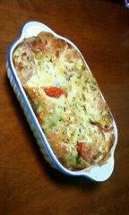 ☆*トマトアボカドのイタリアンキッシュ