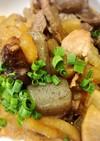 ウチのアレ♡豚蒟蒻大根の炒り煮