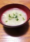 ヒガシマルうどんスープで☆お味噌汁