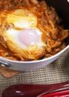 簡単ひとりキムチチゲ鍋