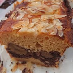 糖質オフ 栗とインゲン豆のパウンドケーキ