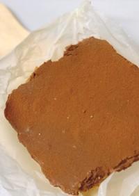【材料5つ】豆腐生チョコタルト