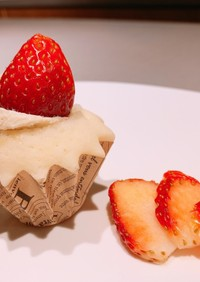 犬用米粉カップケーキ