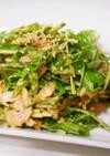 5分で完成♡ツナと水菜のゴママヨサラダ