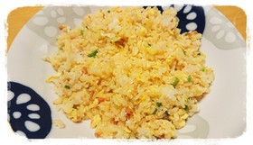 簡単☆鮭フレーク炒飯
