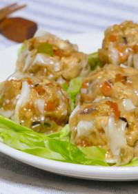 豆腐の炒り煮で☆超節約ベジシューマイ