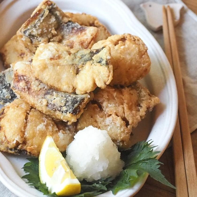 簡単美味しい♡鯖の塩竜田揚げ