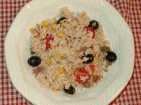 お米のサラダ