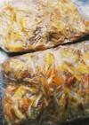 柚子の皮の冷凍保存方法