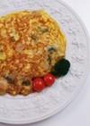 じゃが芋 モッツァレラチーズ オムレツ