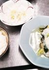 鱈の蕪蒸し、大根サラダ