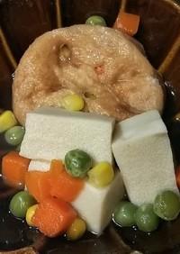 高野豆腐とがんもの含め煮