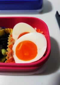 塩麹で味付け卵