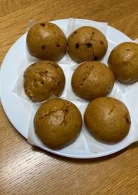 和菓子の定番「黒糖饅頭」
