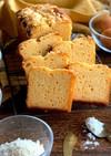 HMで作る3種のチーズのパウンドケーキ