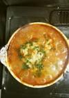 洋風味噌トマトチーズ鍋