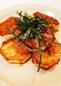 簡単おつまみ♡長芋のステーキ