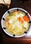 お豆腐と根菜麹味噌汁