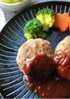 基本のハンバーグ(肉だね活用)