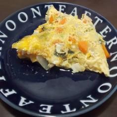 野菜マヨソテー卵オムレツ