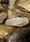 鶏皮とごぼうの煮物