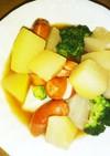 ハヤトウリ(蕪、大根、冬瓜でも)スープ煮