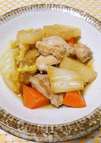 作り置き☆鶏もも肉と根菜の煮物