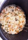 離乳食中期 しらすの炊き込みご飯
