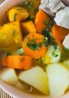 出汁が効く中華スープ