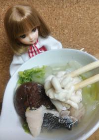 リカちゃん♡塩こうじたら鍋(白子入り)♡