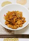鶏もも肉と舞茸とごぼうの甘辛マヨソテー