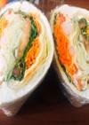 野菜パンッパン!サンドイッチ