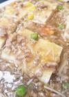 チキンラーメンをアレンジ♪あんかけ豆腐