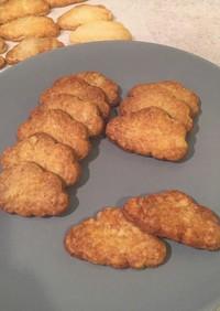 卵なし!サクサク蜂蜜クッキー!