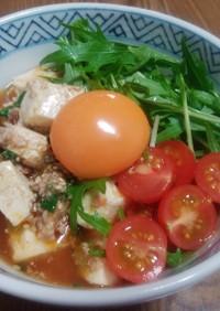 サッポロ一番ごま味ラーメン☆マーボー丼