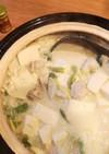 我が家の豆乳鍋