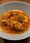 キャベツと鶏肉のトマト煮【バーミキュラ】