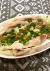 白菜と豚肉の花びら蒸し