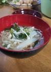 簡単☆えのきとにらの中華スープ