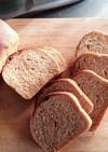 ふすま入りパン ブラウワー全粒粉で作る