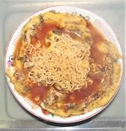 「土筆卵トマトしょうゆラーメン」の写真
