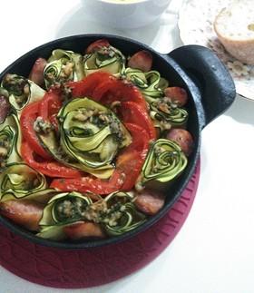トマトとズッキーニのグリル
