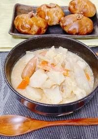 なおみんのお野菜たっぷりお味噌スープ
